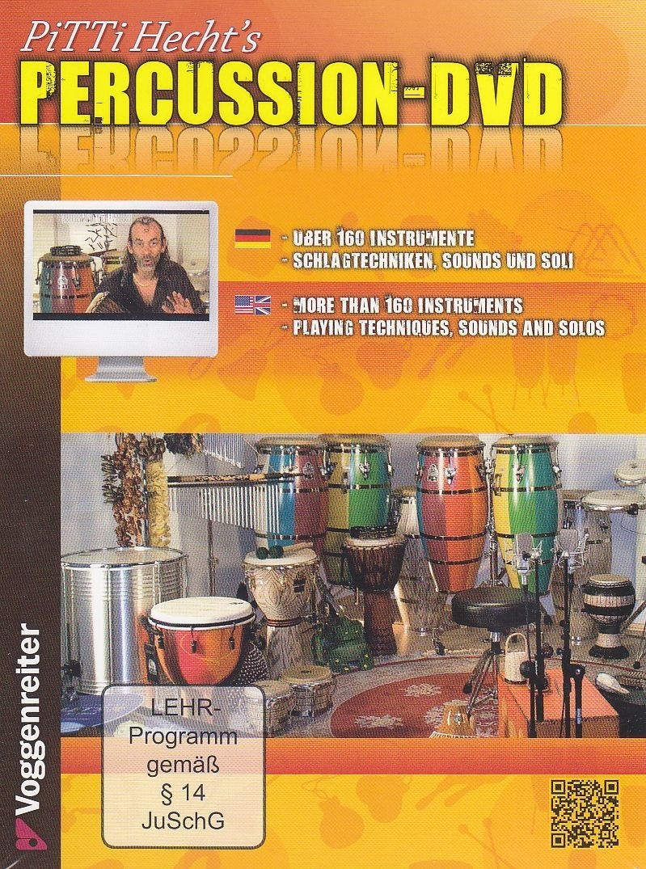 DVD Pitti Hecht´s Percussion DVD Voggenreiter 0846