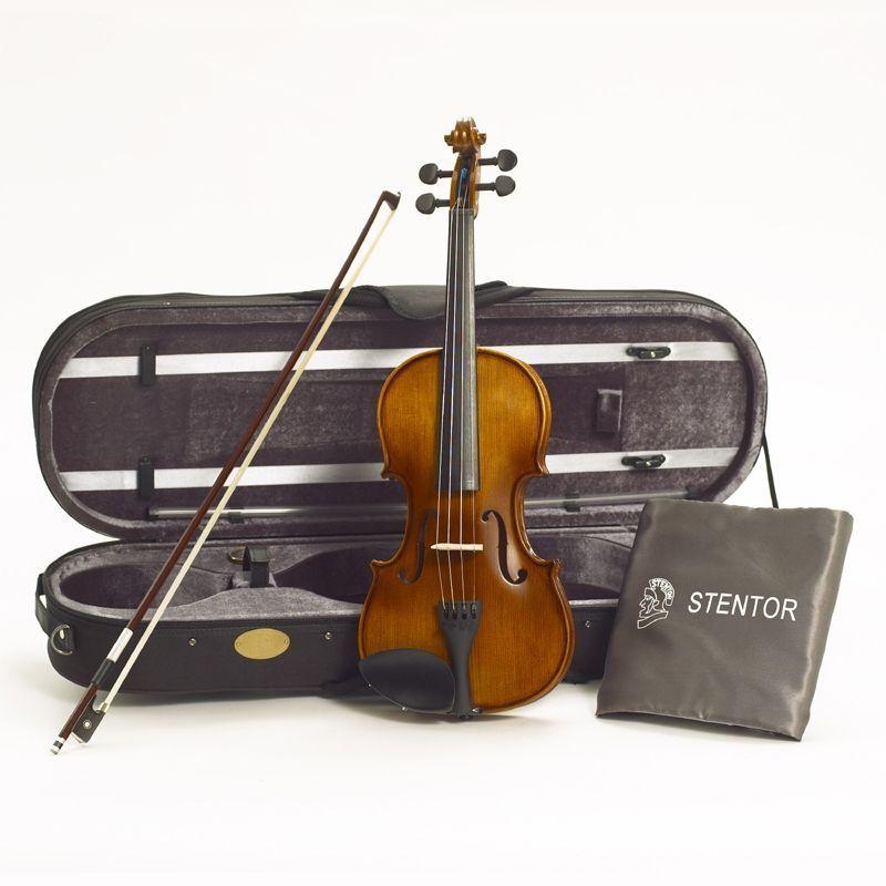 Stentor Violine Graduate 1/8 SR-1542G  Garnitur mit Koffer u. Bogen