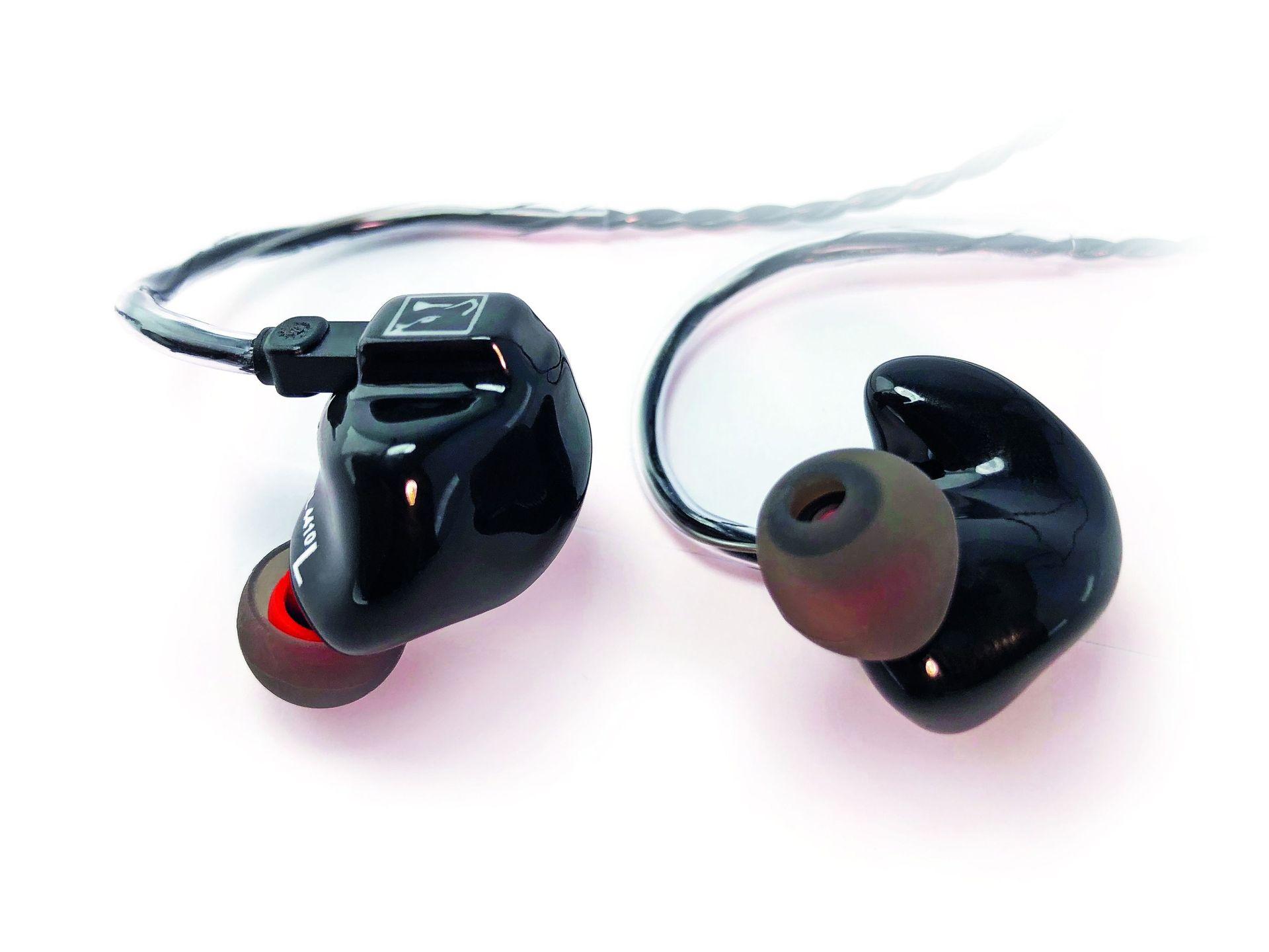 Hörluchs HL 4410 black In-Ear Kopfhörer 4 Wege HL4 Serie bassbetont