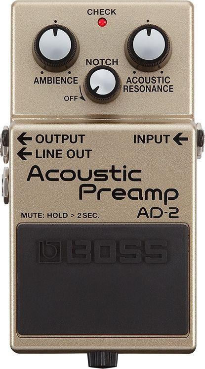 Boss AD-2 Effektgerät für E-Akustikgitarren