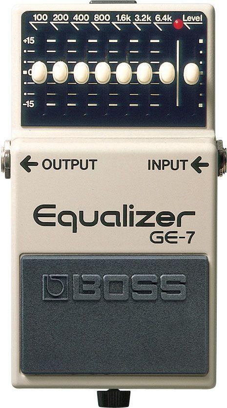 Boss GE-7 Equalizer, Effektgerät für E-Gitarre