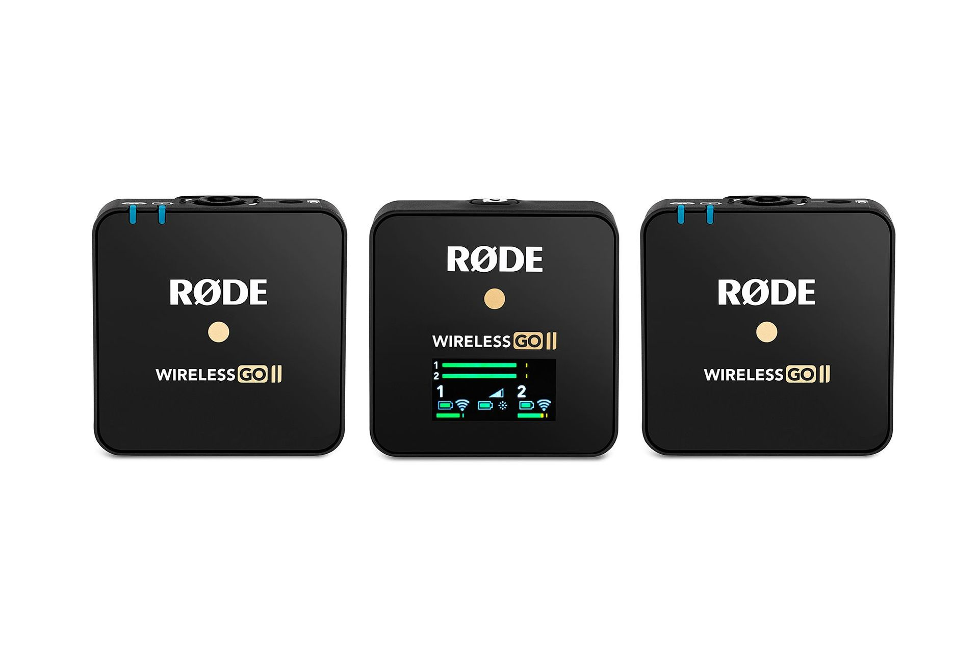 Rode Wireless GO ll Digitales 2-Kanal Funk Mikrofonsystem ideal für Interviews