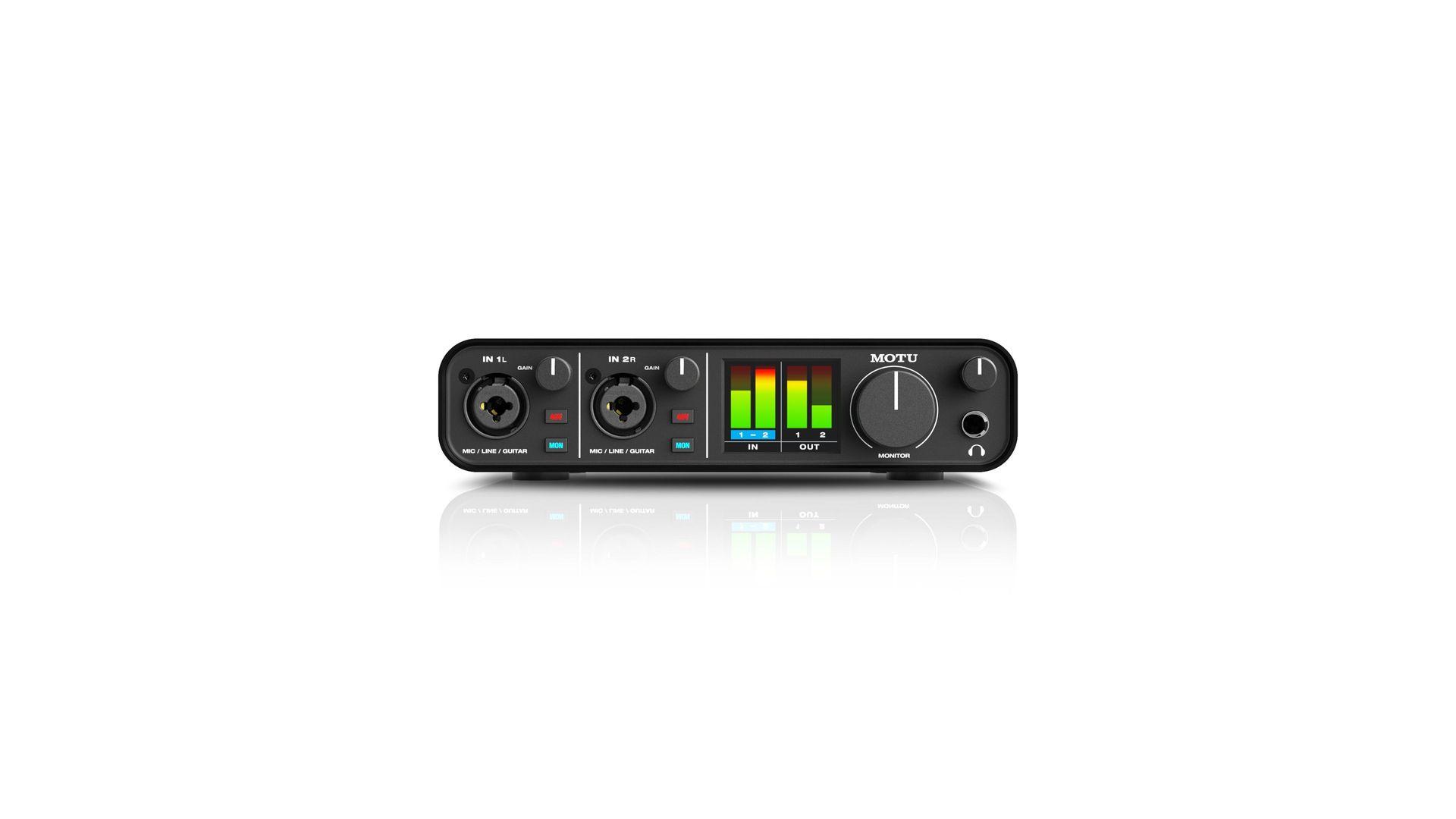 MOTU M2 2-Kanal  USB-C  Audiointerface