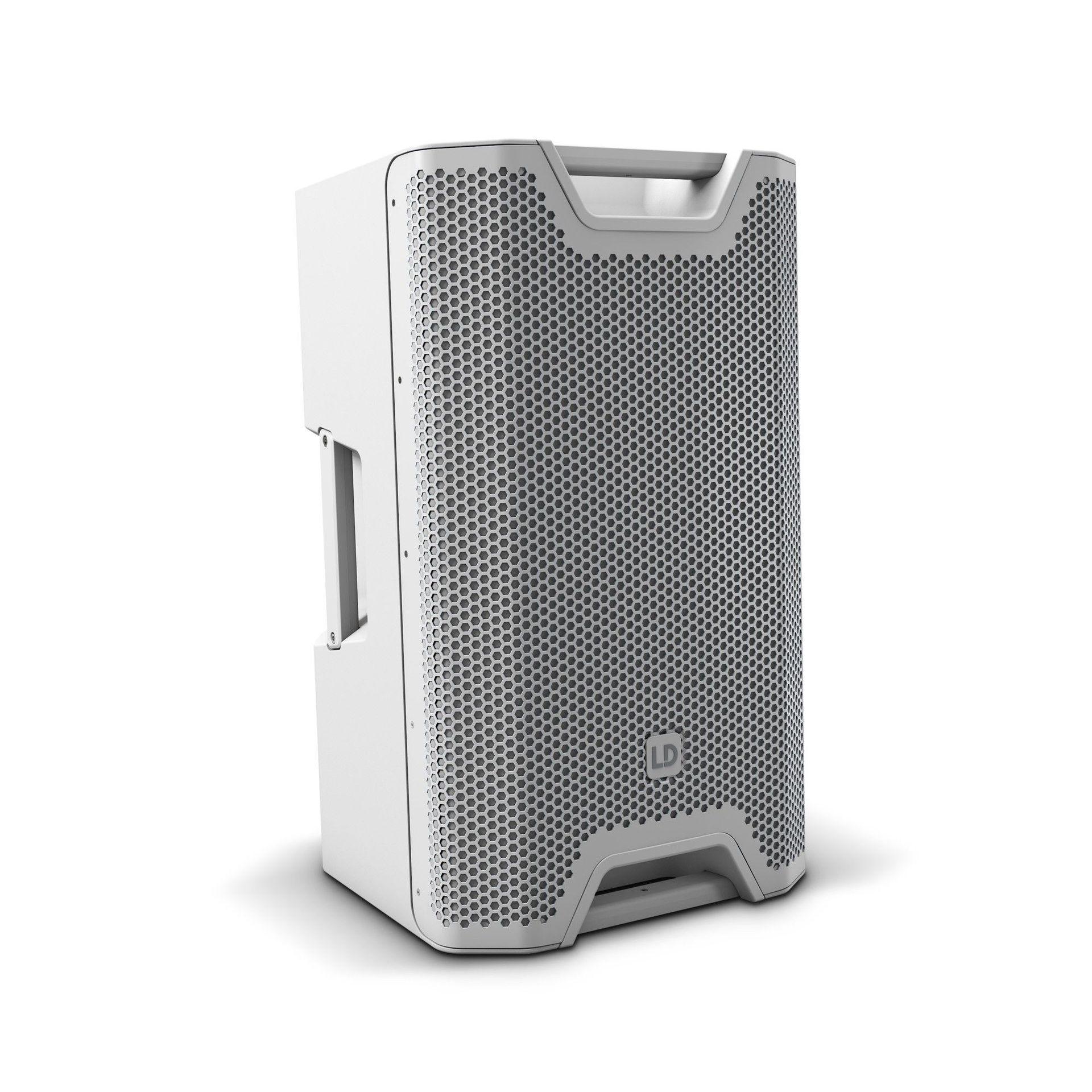 "LD Systems ICOA 12 W  PA-Box,  12"" Passiver koaxialer PA-Lautsprecher, weiß"