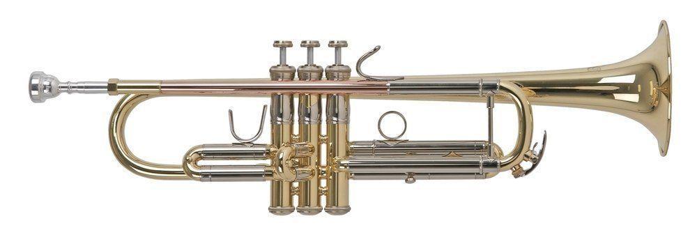 Bach TR-450L USA-Made, B-Trompete, Bohrung 11,66mm, incl.Etui u. Zubehör