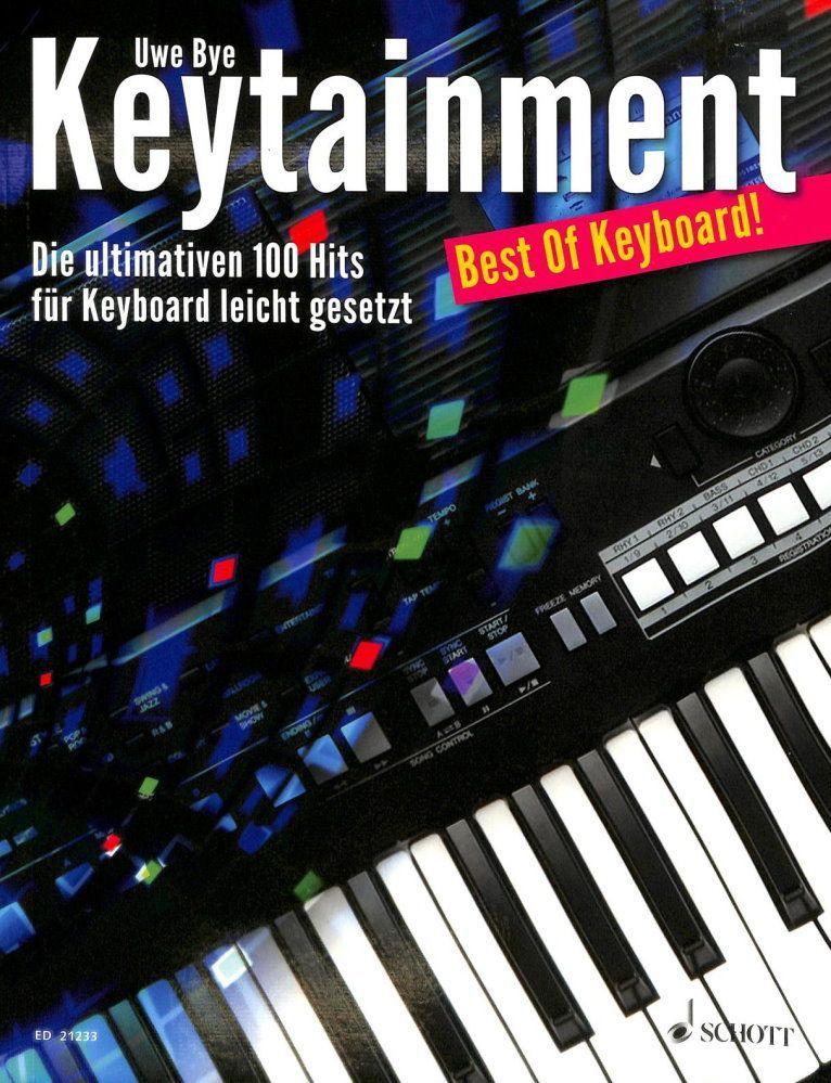 Noten Keytainment Schott ED 21233 Keyboard   Best Of Keyboard!