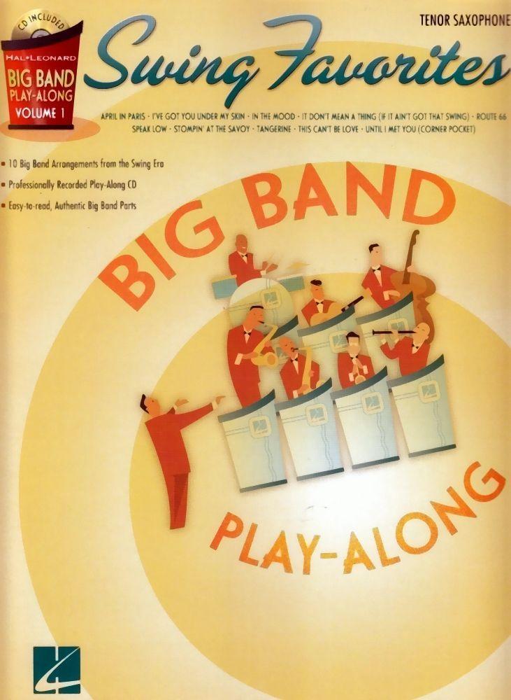 Noten Swing favorites für Tenorsax Jazz / incl. CD HL 7011314
