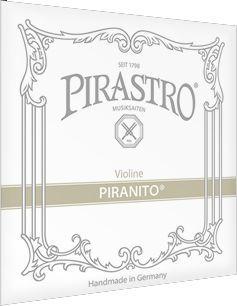 Pirastro Violine Piranito 1/4 -1/8 615060 Satz Stahl/Aluminium Saiten
