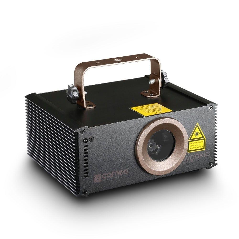 Cameo WOOKIE 200 RGY Animationslaser 200 mW RGY inkl. IR-Fernbedienung
