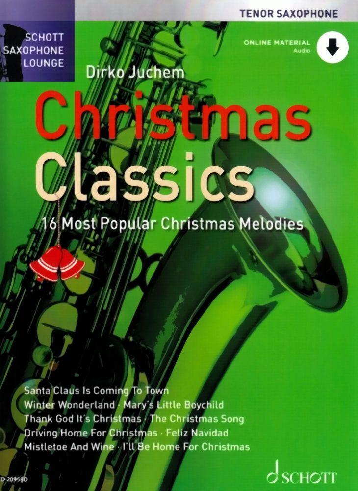 Noten Christmas classics Weihnachten für Tenorsaxophon incl. downloadcode 20958D