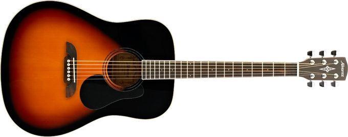 Alvarez RD26 SB  Akustikgitarre für Einsteiger, Fichte, Sunburst, incl. Gigbag