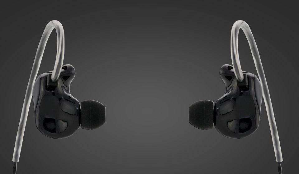 StageDiver SD-2S In-Ear Hörer 2-Wege inkl. High-End-Kabel schwarz im Hardcase