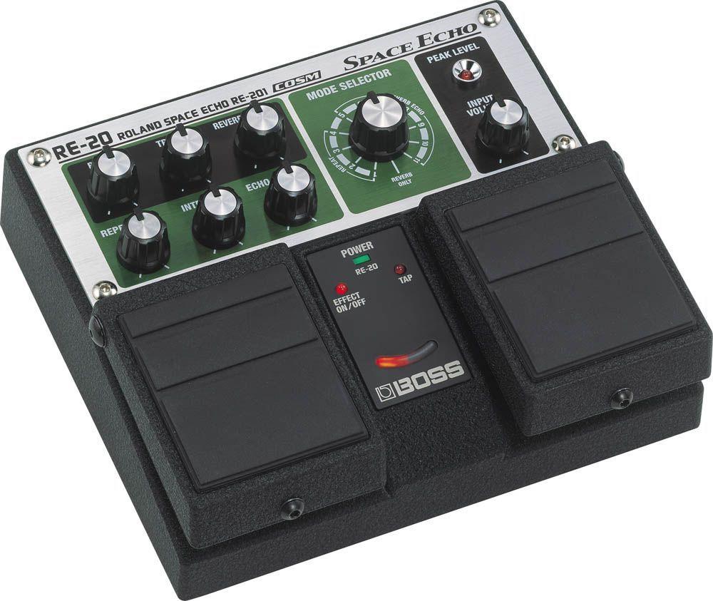 Boss RE-20 Space Echo, Effektgerät für E-Gitarre