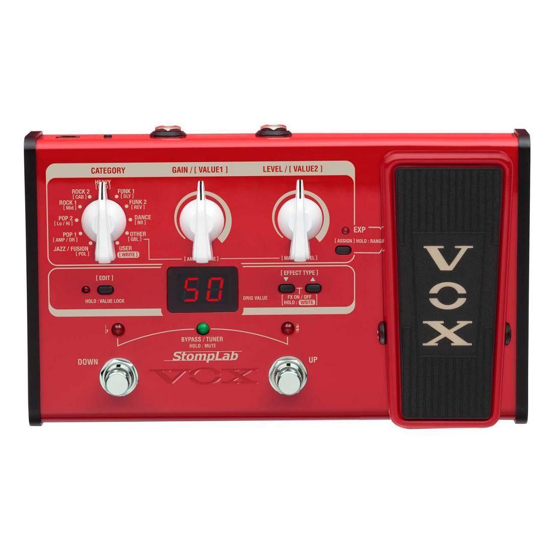 Vox StompLab IIB, Multieffektgerät für E-Bass