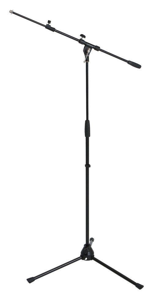 Mark Mikrofonstativ mit ausziehbarem Schwenkarm, heavy, 3-Fuß, schwarz