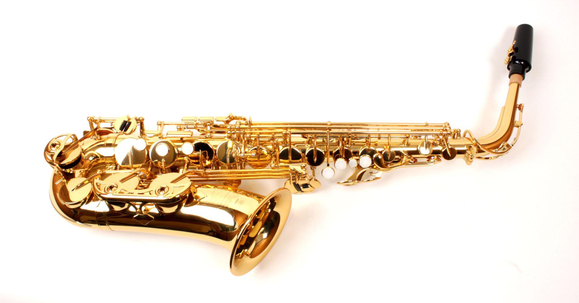Yamaha PLUTUS YAS-PLU1 Altsaxophon, incl. Etui u. Zubehör