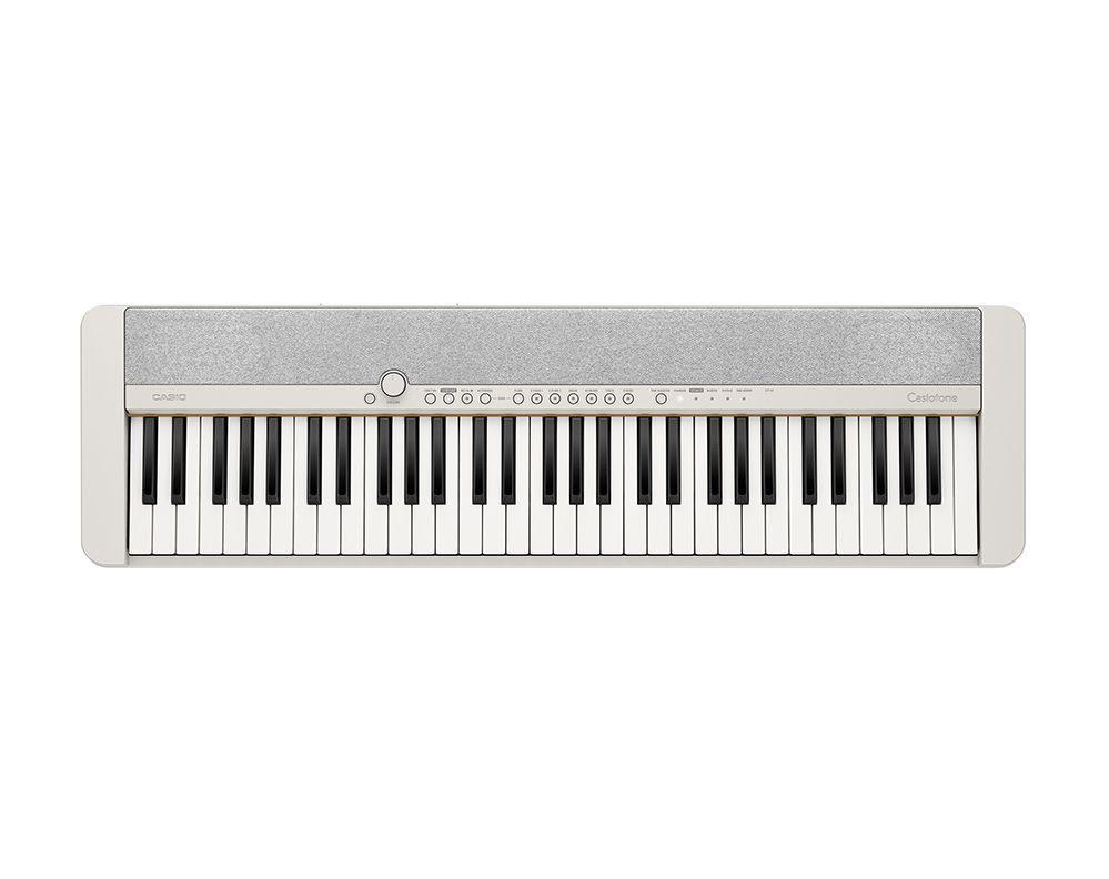 Casio CT-S1 WE weiß Piano-Keyboard incl.Netzadapter, USB,