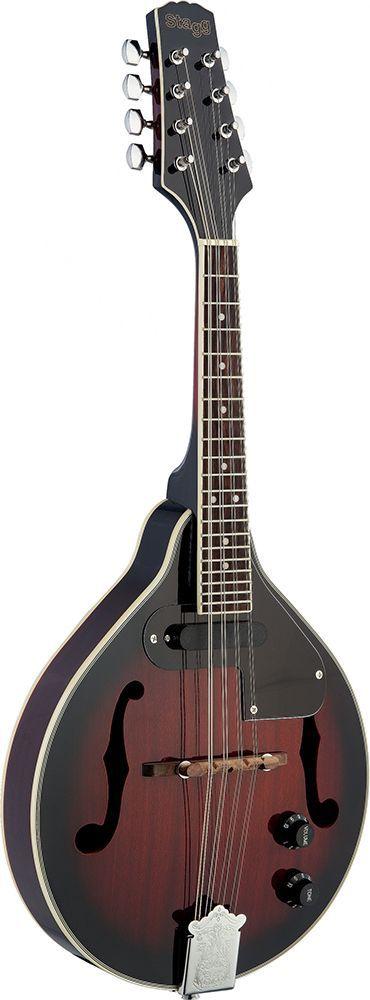 Stagg M-50-E Mandoline mit PickUp in Violin Sunburst
