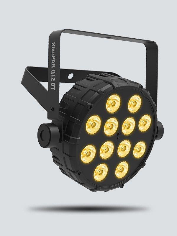 Chauvet DJ SlimPar Q12 BT kompakter Flat-PAR LED Scheinwerfer mit Bluetooth