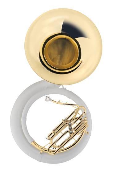 Jupiter Sousaphon JSP-1010 Bb-Sousaphon, Bohrung 17,50mm, incl.Etui und Zubeh