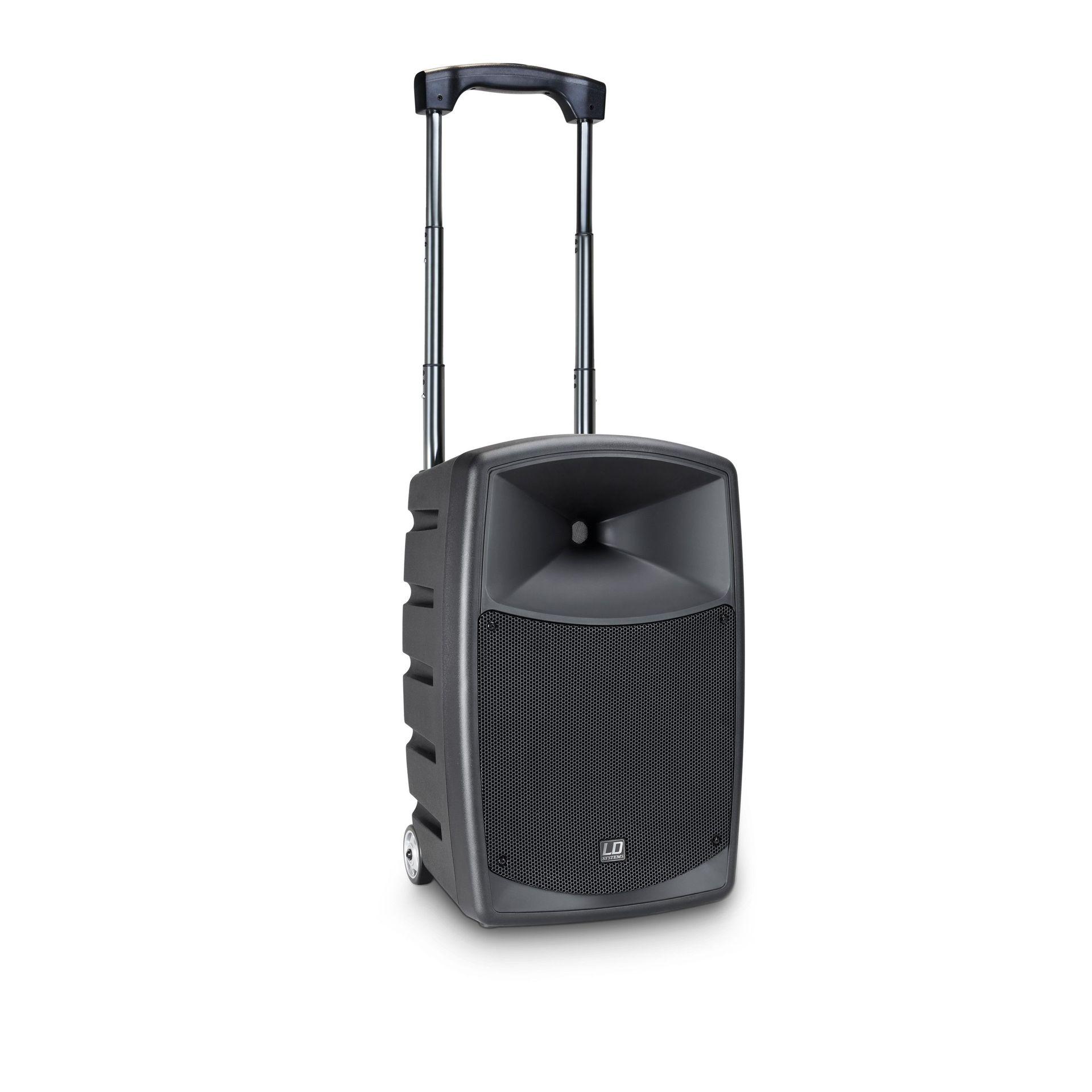 LD Systems Roadbuddy 10 Basic Akkubetriebene Bluetooth-Lautsprecherbox mit Mixer