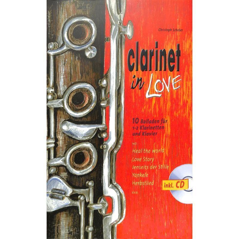 Noten Clarinet in love - 10 Balladen HGEM 5458 Gerig Verlag incl. CD