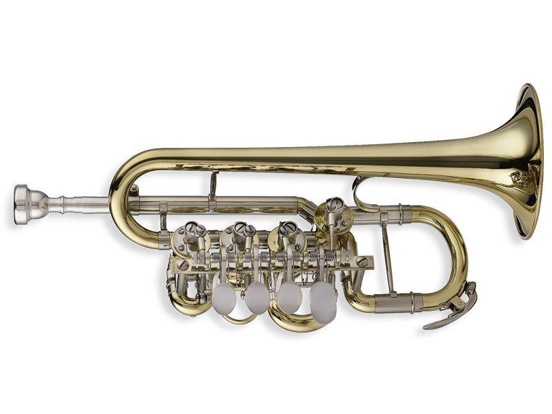 SWING TP-202 B/A-Piccolotrompete Bohrung 10,40mm, incl.Etui u. Zubehör