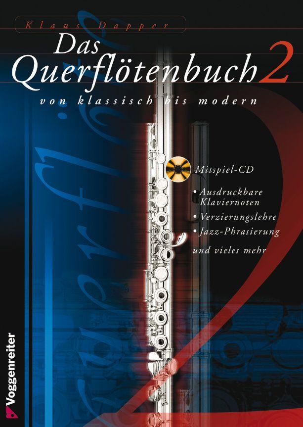Noten Das Querflötenbuch 2 - Klaus Dapper incl. CD Voggenreiter