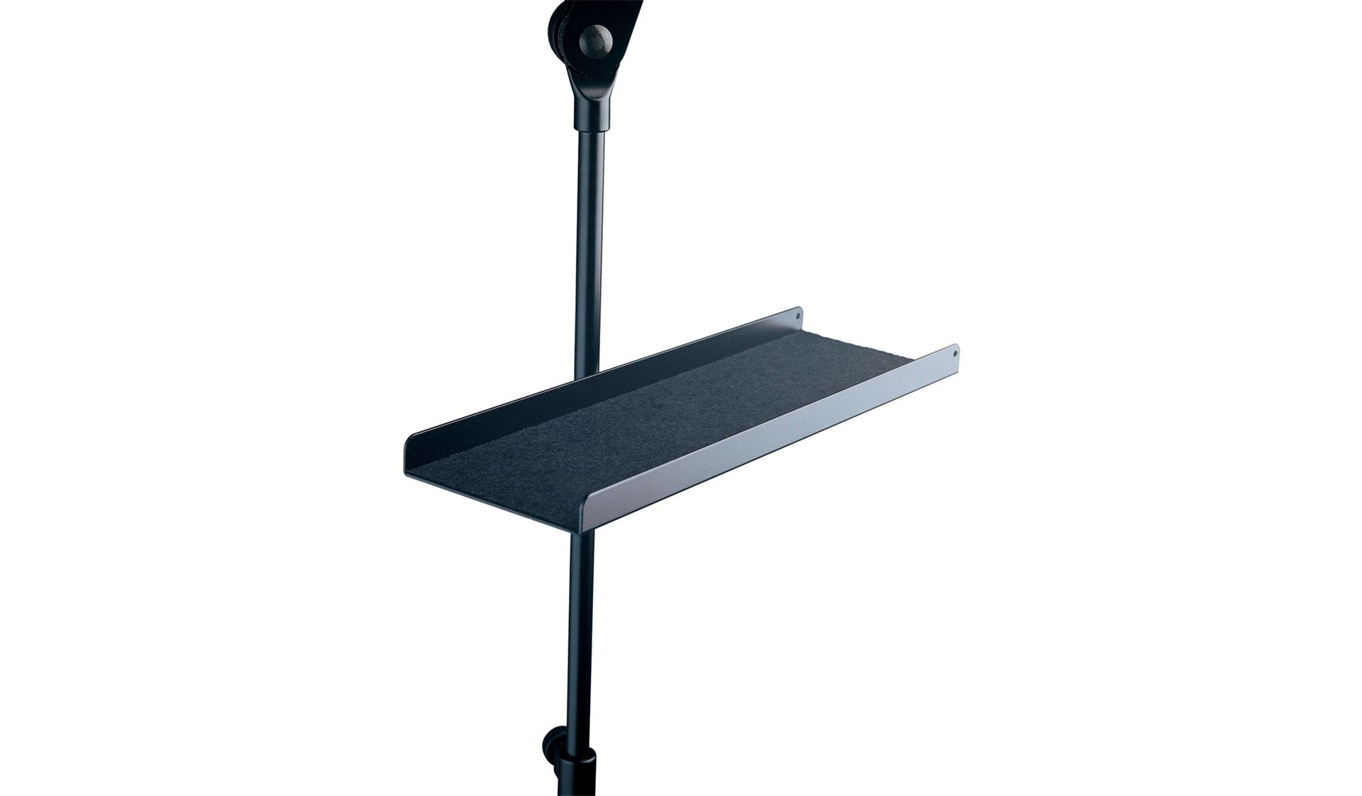 K&M 12218  Ablage / Instrumentenablage ALU für Noten-und Mikrofonständer