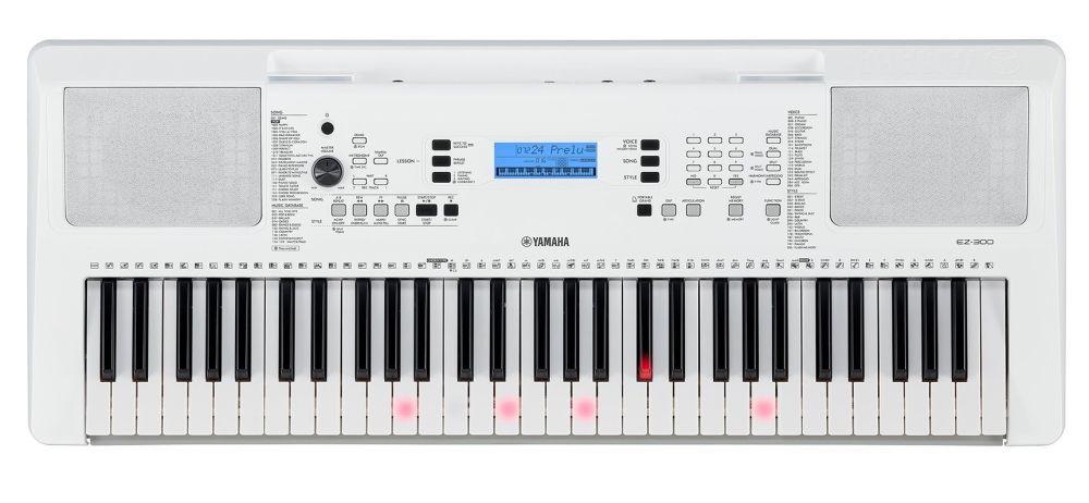 Yamaha EZ-300 Keyboard mit Begleitautomatik und Leuchttasten