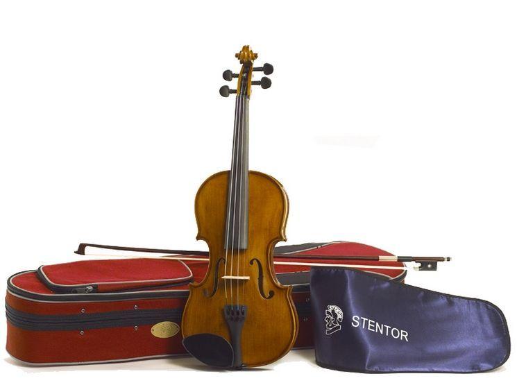 Stentor Violine Student II 3/4 SR-1500C2 3/4 Garnitur mit Koffer u. Bogen