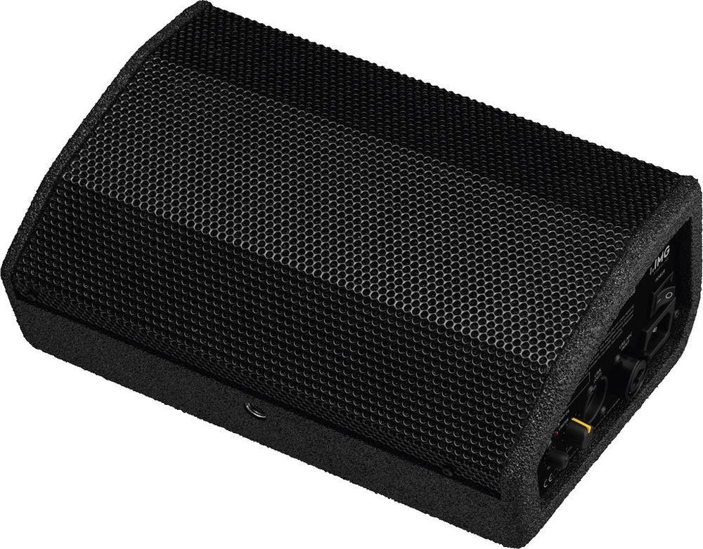 IMG Stage Line FLAT-M100 kleine Aktive Monitorbox, Kleinlautsprecher