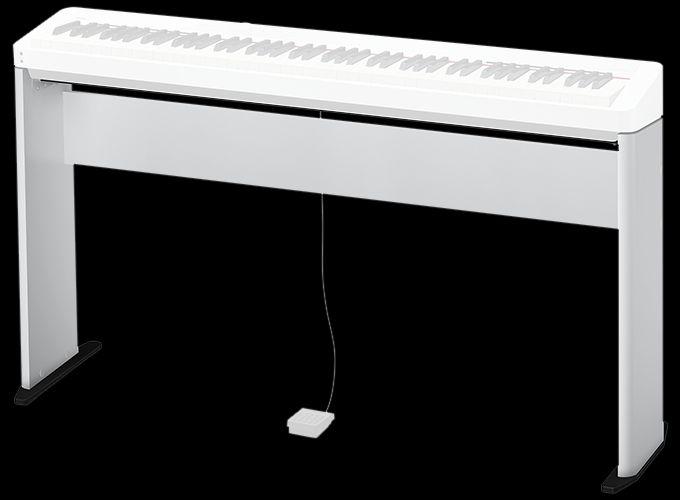 Casio CS-68PWE Ständer weiß, Untergestell für PX-S1000, PX-S3000