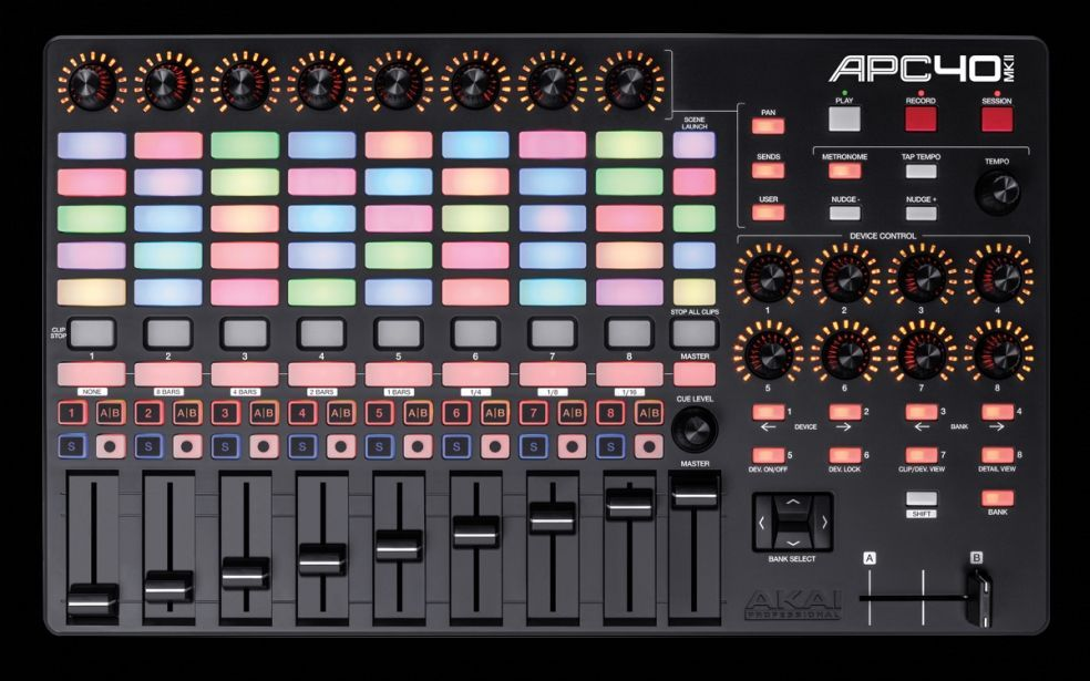 AKAI Professional APC 40 MK 2 USB Ableton Live Controller