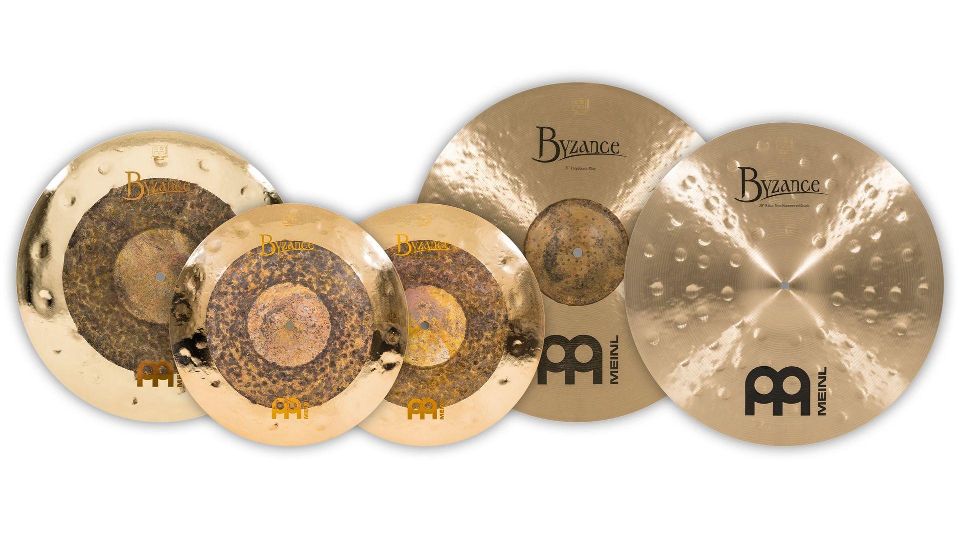 "Meinl Byzance Assorted Cymbal Set 15""/18""/20""/21"" B15182021"