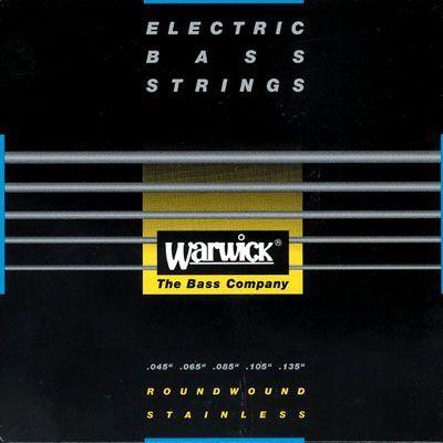 Warwick Black Stainless E-Bass Saiten 5 String  045-135