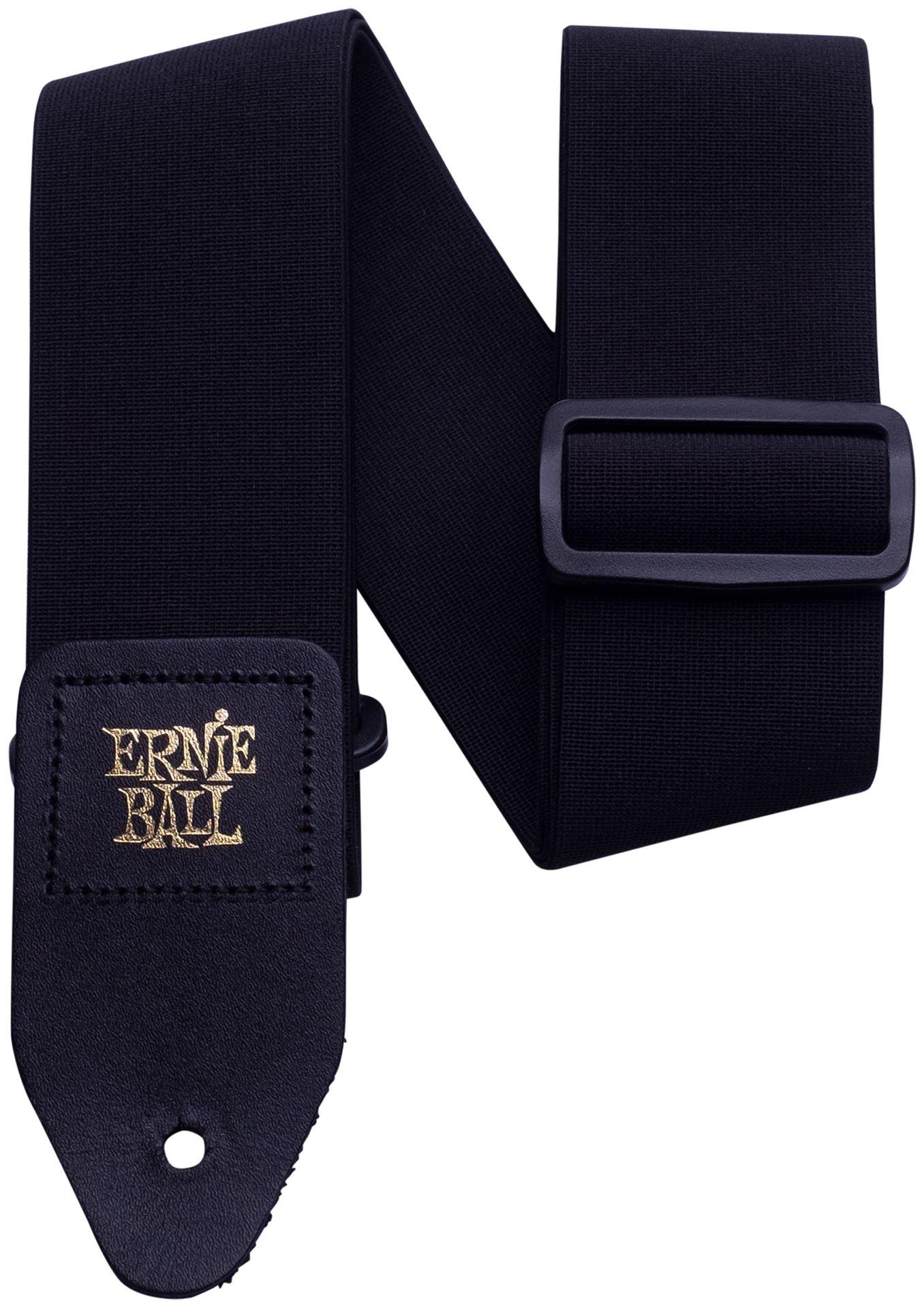 Ernie Ball EB4143 Stretch Comfort Gitarrengurt Black