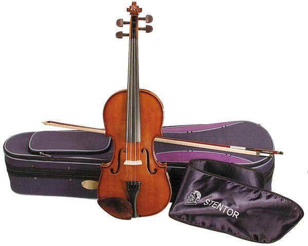 Stentor Violine Student I 3/4 SR-1400C2 3/4 Garnitur mit Koffer u. Bogen