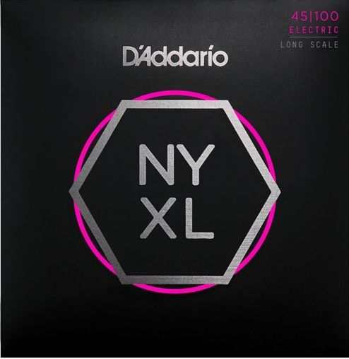 D'Addario NYXL45100 E-Bass Saiten, 4 String Bass 045-100