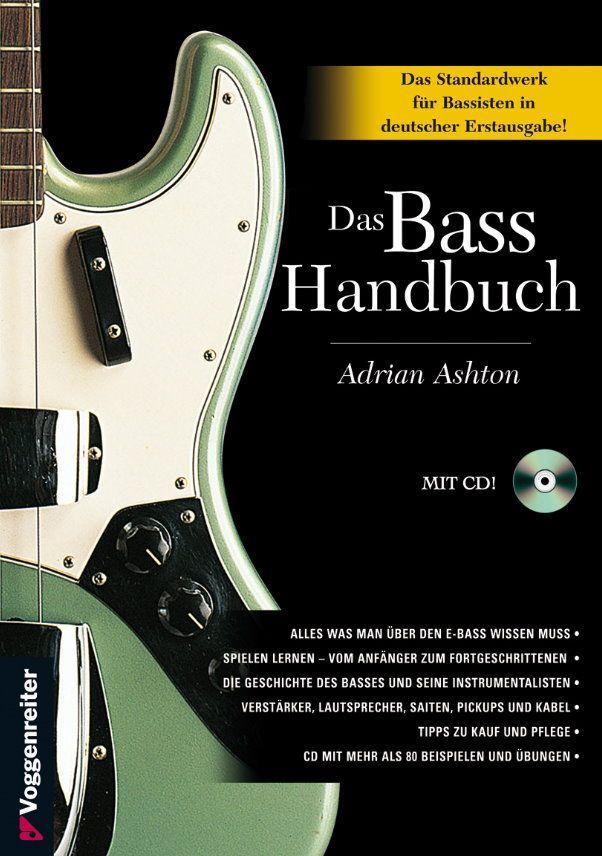 Das Bass Handbuch mit CD 0563 Voggenreiter Adrian Ashton 9783802405631