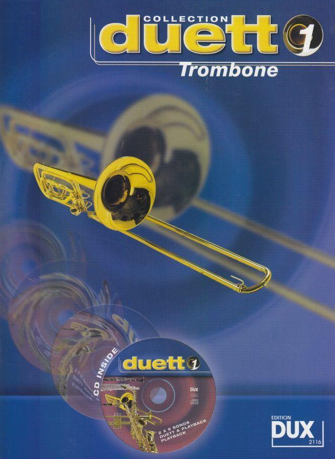 Noten Duett Collection 1 - Trombone incl. CD DUX 2116