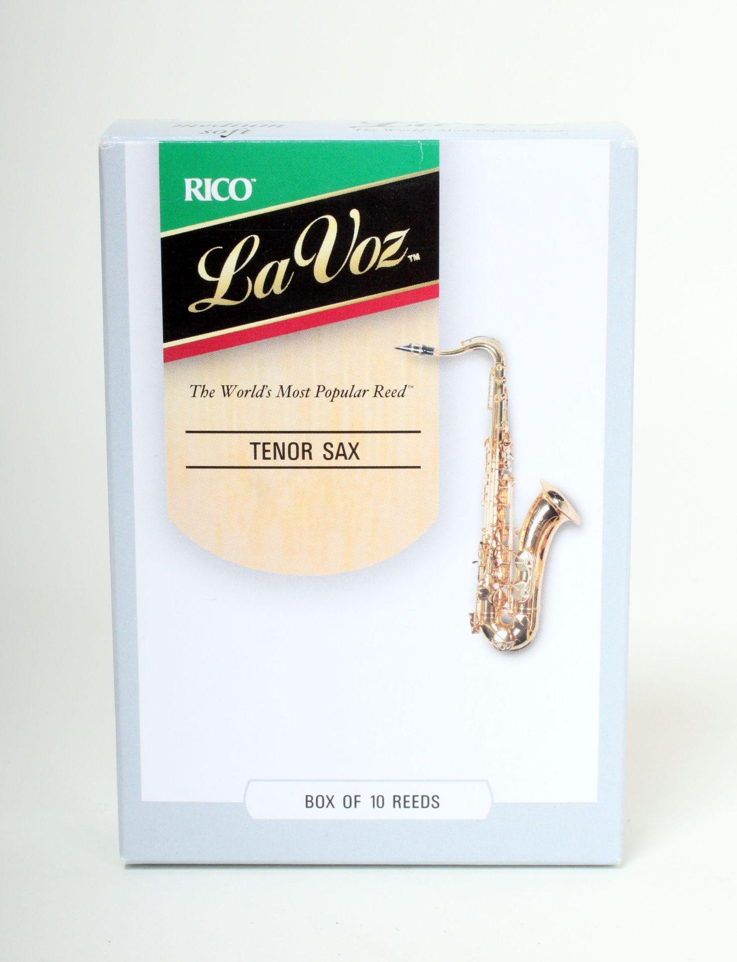 La Voz Unfiled Tenorsaxophon Medium Hard Blatt, MH entspricht Rico Royal 3,0-3,5