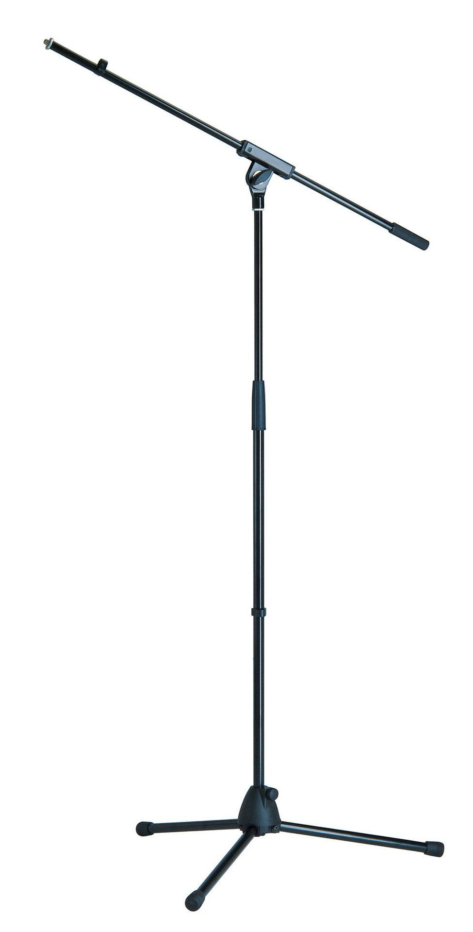 K&M 27105 Mikrofonstativ mit Schwenkarm schwarz