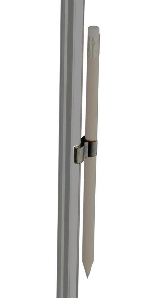 K&M 16092 Bleistifthalter zum Anklemmen am Notenpult, Rohrdurchmesser 13-15mm