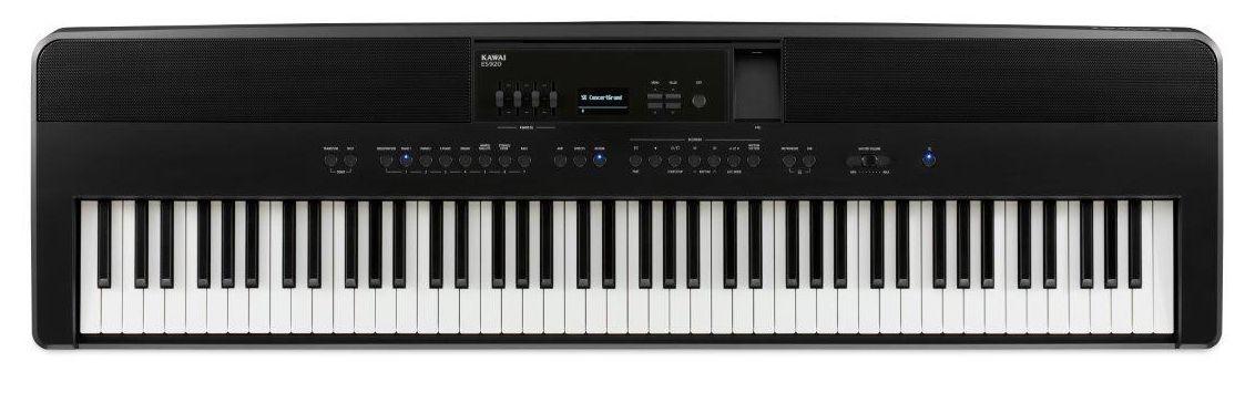 KAWAI ES-920-B schwarz Stagepiano, Digitalpiano mit RH--Mechanik