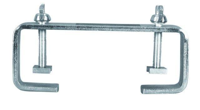 EUROLITE TCH-50/20 C-Haken 20cm, silber, für 50mm Rohr