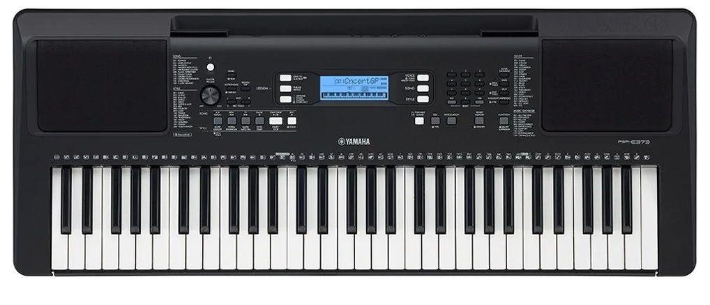 Yamaha PSR-E373 Keyboard mit 622 Klangfarben und Begleitautomatik, E373