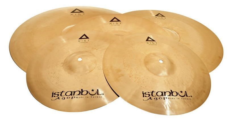 Istanbul Agop Xist Beckenset Power 20/14/16/18 IXPWS4