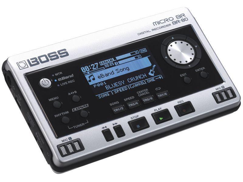 Boss BR-80 Portastudio Digitaler Recorder