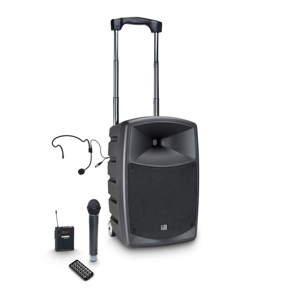 LD Systems Roadbuddy 10 HBH 2 Akkubetriebene Bluetooth-Lautsprecherbox